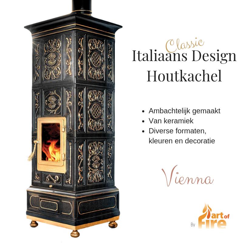 Italiaans Design Houtkachel Classic