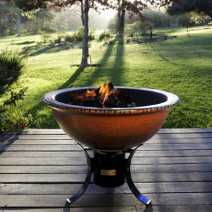 African Flame by Art of Fire FirePit