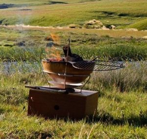 Campfire - African Flame - vuurschaal - braai kopie