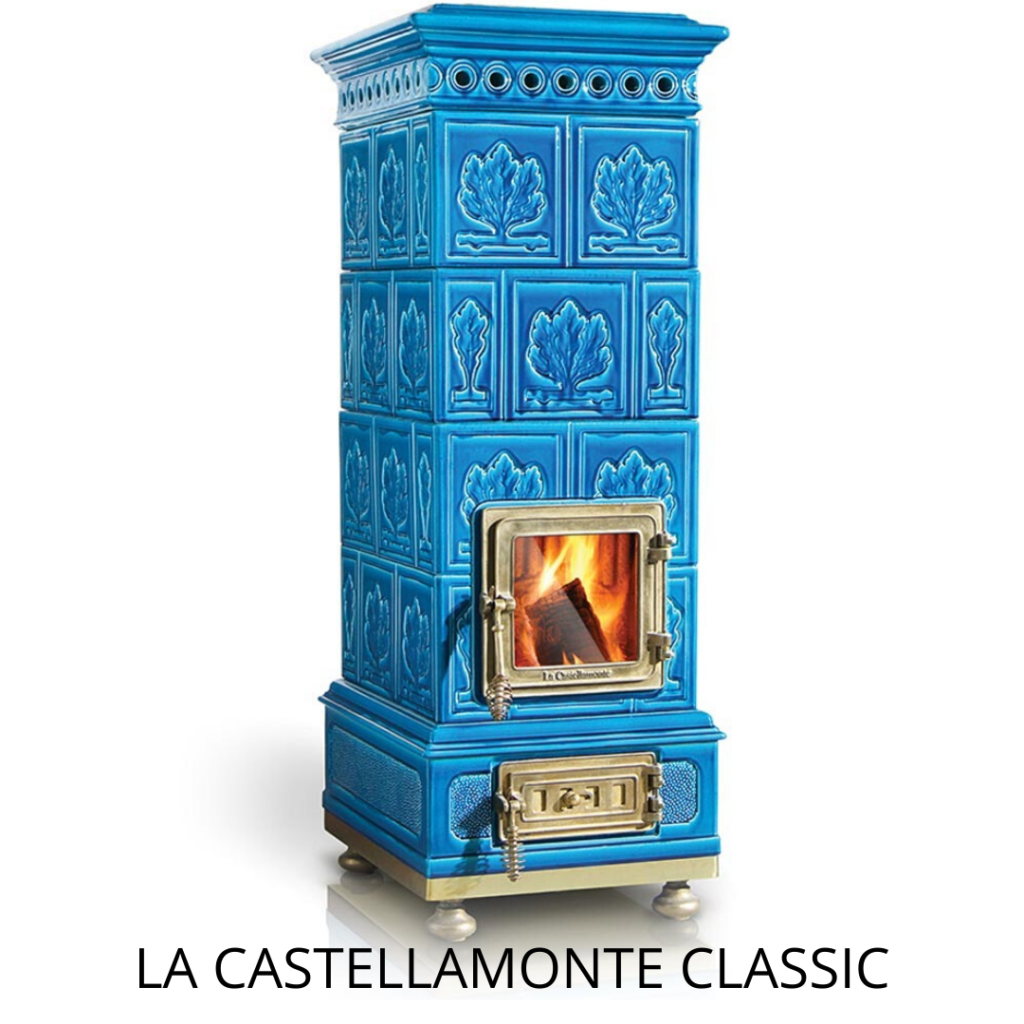 keramische houtkachel La Castellamonte classic