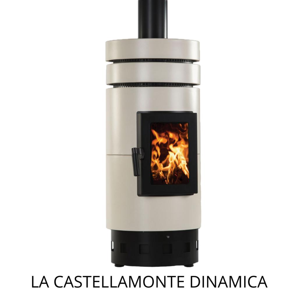 keramische houtkachel La Castellamonte Dinamica