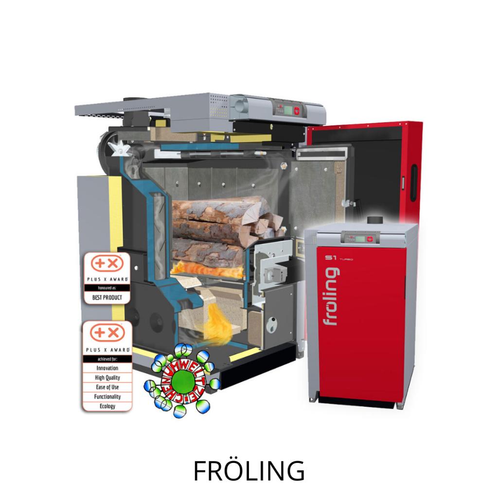 Froling biomassa verbrandingsinstallaties