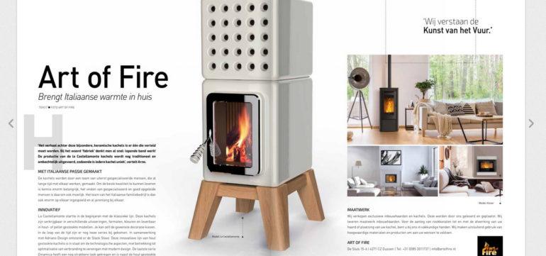 Art of Fire brengt Italiaanse warmte in huis
