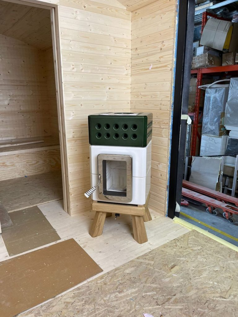 ART OF FIRE Ministack in tiny house kopie