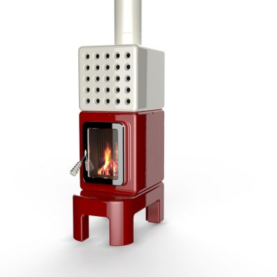 Art of Fire long rood wit italiaansdesign